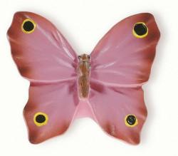 Buton mobila H048-41A9 fluture roz Siro