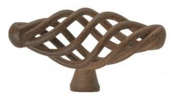 Buton mobila 1268-62PB20 maro antic Siro