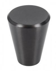 Buton mobila 1403 negru grafit Siro