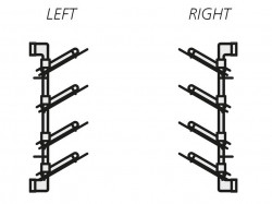 Suport pantofi lateral dreapt/stanga Moka