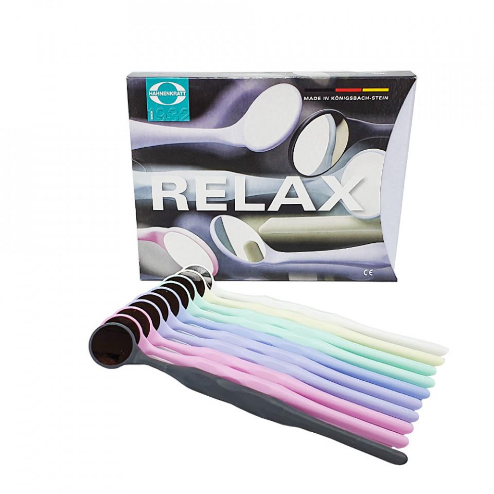 Set 10 oglinzi Relax Fs Rhodium multicolore