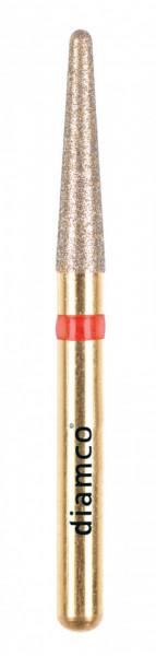 Freza diamantata fina pentru finisare compozit aliaj rodium-platina - C13F