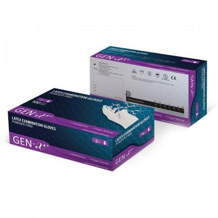 Manusi de examinare latex - nepudrate Gen-X M