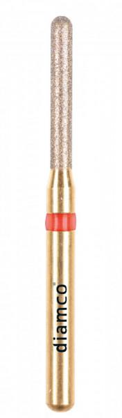 Freza diamantata fina pentru finisare compozit aliaj rodium-platina - C8F