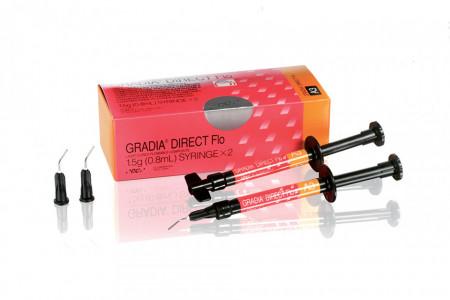 Gradia Direct Flo 2 x 1.5g GC - REFILL