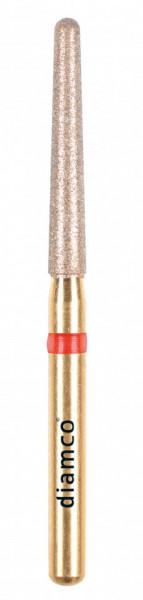 Freza diamantata fina pentru finisare compozit aliaj rodium-platina - C10F