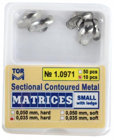 Matrici metalice sectionale 0.035mm cu bordura - 10 bucati TorVM