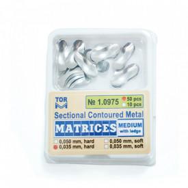 Matrici metalice sectionale Medium cu bordura - 50 bucati TorVM