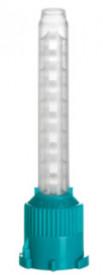 Varfuri mixare verzi cu spirala alba 7.5 mm