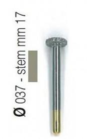 Freza diamantata tip disc aliaj rodium-platina - S30