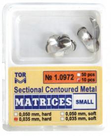 Matrici metalice sectionale Small cu bordura - 10 bucati TorVM