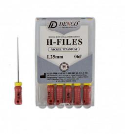Ace H-Files Ni-Ti 25mm