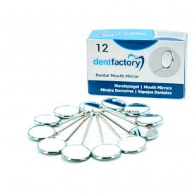Set 12 oglinzi dentare rodiu ZFB217