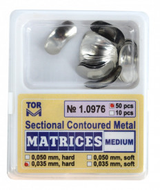 Matrici metalice sectionale 0.035mm cu bordura - 50 bucati TorVM