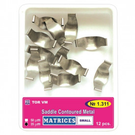 Matrici metalice conturate small standard 5mm 12bucati TorVM