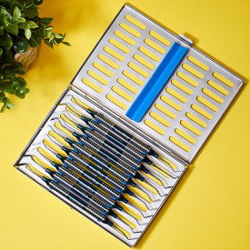 Set 10 spatule din titan pentru modelat compozit