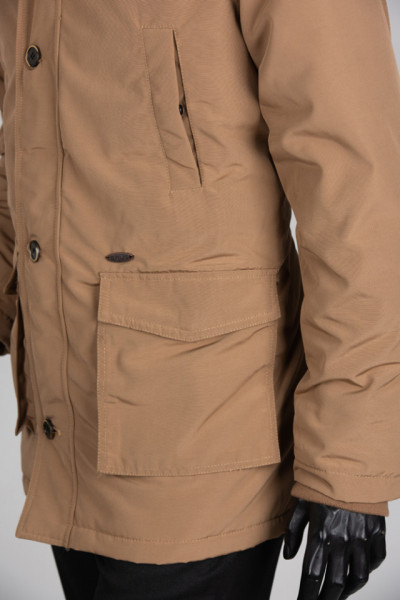 BRUG Zimska jakna 1904-102 Smeđe-žuta
