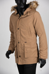 Zimska jakna 1904-102 Smeđe-žuta