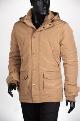 Zimska jakna 1904-101 Smeđe-žuta