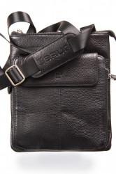 Muška kožna torba - Crna