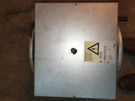 Baterie electrica de incalzire SALDA EKA 315 6.0-3F
