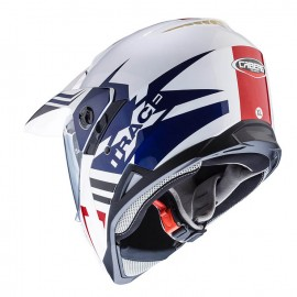 Poze CASCA CABERG - X-TRACE LUX - white/blue/red