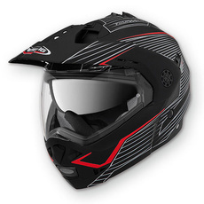 CABERG - TOURMAX SONIC - GRAPHIC MATT BLACK/RED