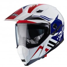 CASCA CABERG - X-TRACE LUX - white/blue/red