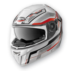 CABERG - EGO STREAMLINE - WHITE/RED