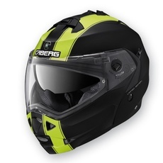 CABERG - DUKE II LEGEND - MATT BLACK/YELLOW FLUO