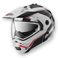 CABERG - TOURMAX SONIC - GRAPHIC WHITE/BLACK