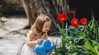 Idei de activitati in aer liber pentru copii - Gradinaritul