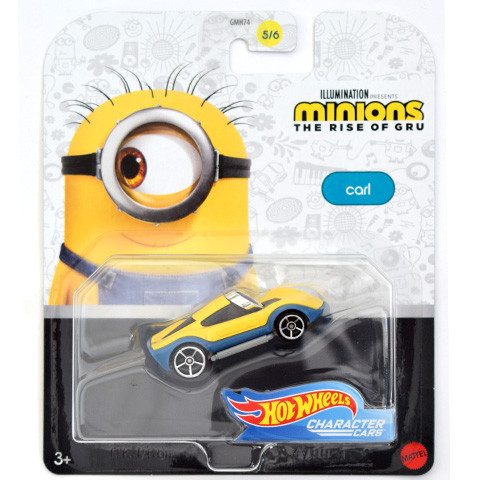Masinuta Hot Wheels 1/64 Carl Minions