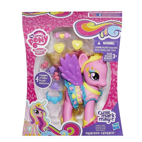 Ponei Printesa Cadance Fashion Style My Little Pony Cutie
