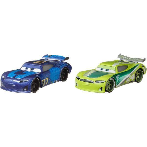 Set 2 masinute metalice Spikey Fillups si Chase Racelott Disney Cars