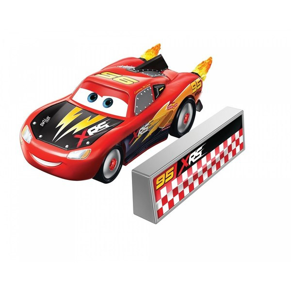 Masinuta metalica Fulger McQueen Rocket Racing Disney Cars