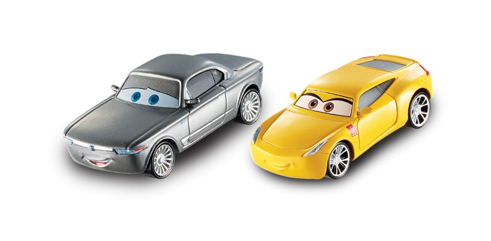 Set Cruz Ramirez si Sterling Cars 3 Disney