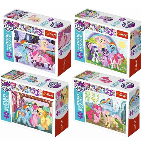 Mini puzzle My Little Pony 54 piese
