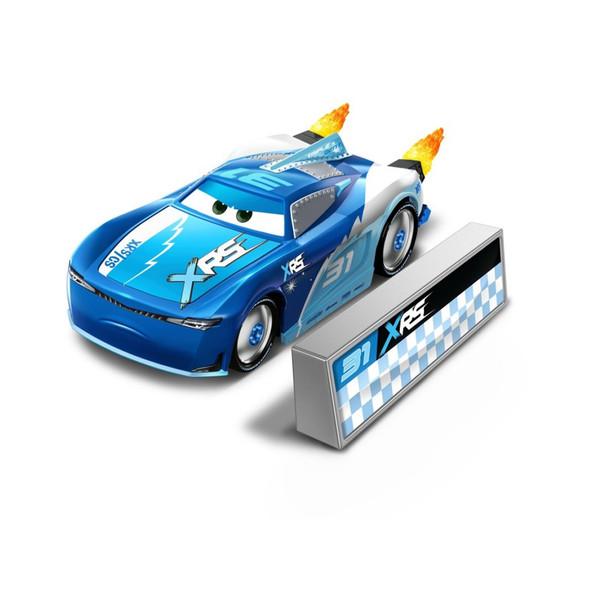Masinuta metalica Cam Spinner Rocket Racing Disney Cars