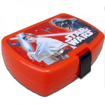 Cutie de pranz rosie Luke Skywalker Star Wars
