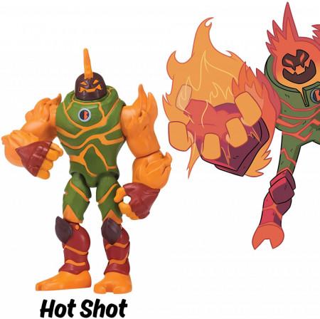 Figurina articulata Hot Shot Ben 10