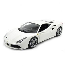Masinuta Ferrari 488 GTB Alb 1/43 Bburago Signature Series