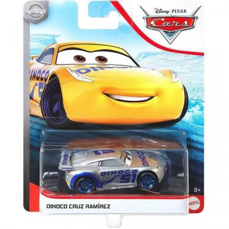 Masinuta metalica gri Dinoco Cruz Ramírez Disney Cars