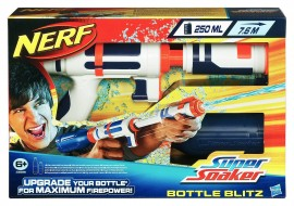 Pistol Nerf Super Soaker Bottle Blitz