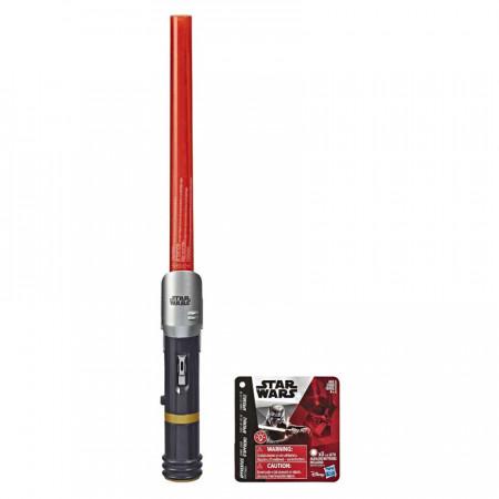 Sabie extensibila cu lumini Kylo Ren Star Wars Ultimul Jedi