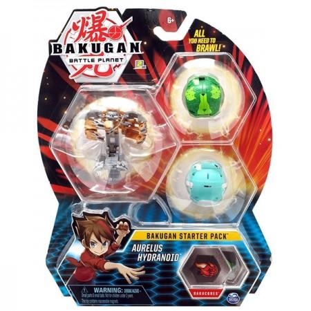 Set Bakugan Start figurina Aurelus Hydranoid