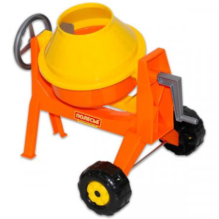 Set de joaca in nisip Betoniera portocalie