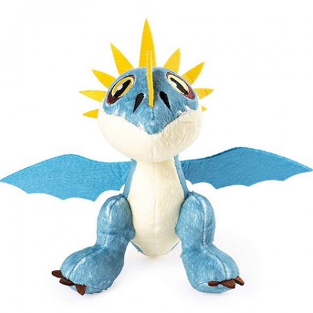 Figurina de plus Stormfly 18 cm - Cum sa-ti dresezi dragonul