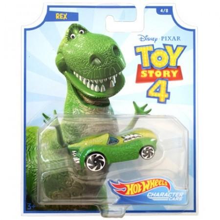 Masinuta Hot Wheels 1/64 Rex Toy Story 4