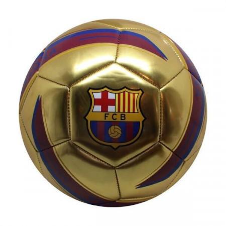 Minge de fotbal aurie - FC Barcelona